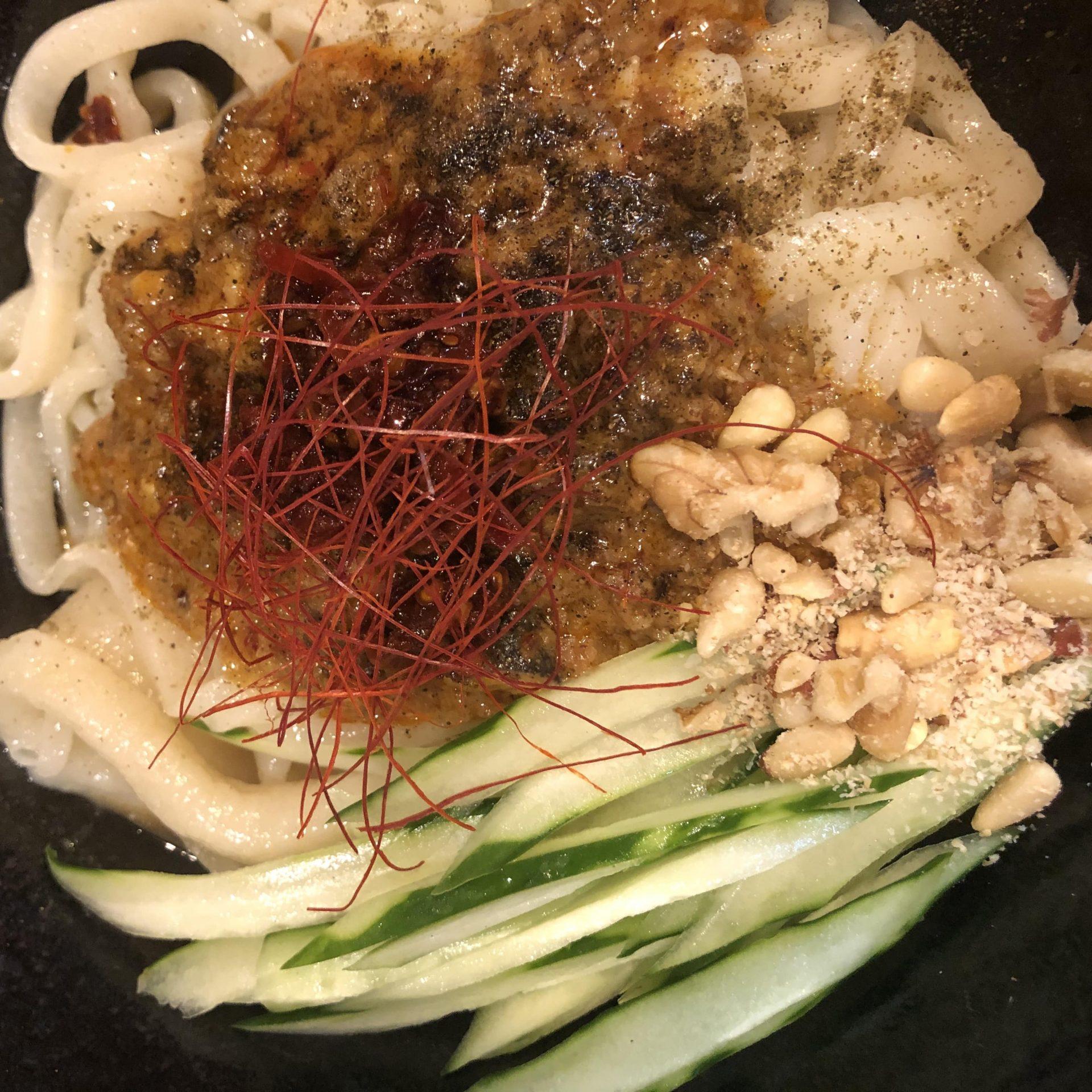 担々炸醤麺