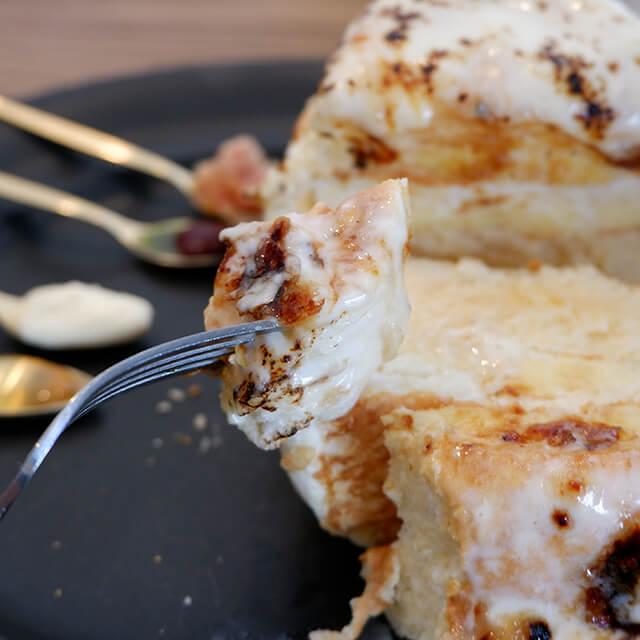 チーズパンケーキ極