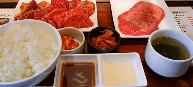 肉屋の8種盛定食
