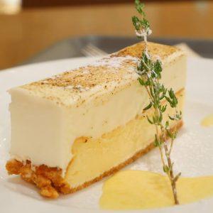 ベイク&レア 二層チーズケーキ