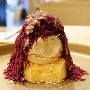 綾紫芋モンブラン